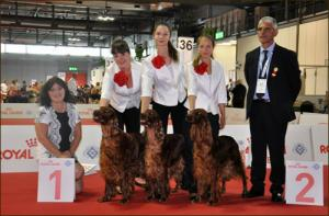World Dog Show Milano 2015, Arisland - The Best Breeding Group at World Dog Show in Milano